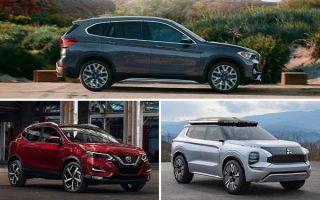 Компактные кроссоверы 2020 года: BMW X1, Nissan Qashqai, Mitsubishi Outlander