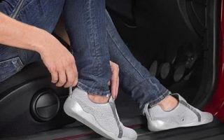 Какой должна быть обувь у водителя автомобиля