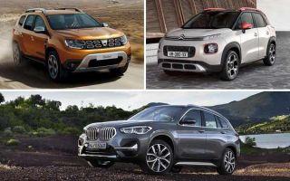 Кроссоверы с дизельным двигателем: Renault Duster, Citroen C3 Aircross, BMW X1