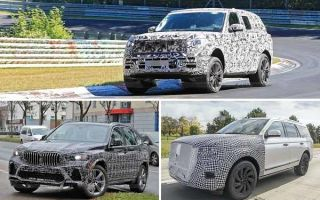 Большие кроссоверы 2021 года: Land Rover Range Rover, BMW X5, Lincoln Navigator
