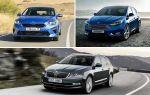 Автомобили с преселективным роботом: Kia Ceed, Ford Focus, Skoda Oktavia