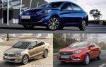 Сравним 3 бюджетных седана: LADA Vesta, Hyundai Solaris, Volkswagen Polo