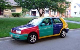 Плюсы и минусы многоцветных автомобилей