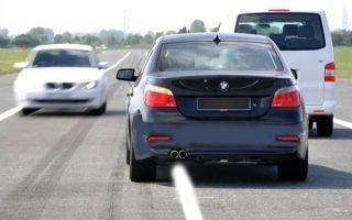 Почему водители выезжают на встречную полосу
