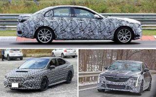 Спортивные седаны 2021 года: Mercedes-Benz C-Class, Subaru WRX, Cadillac CT5-V Blackwing