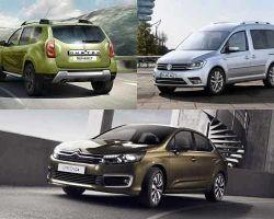 Автомобили с маленьким дизельным двигателем: Renault Duster, Volkswagen Caddy, Citroen C4 Sedan