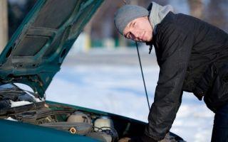 Не запускается двигатель в холодный период: причины и решение проблемы