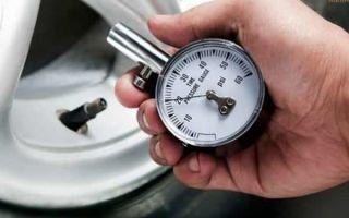 Несколько важных замечаний о давлении в шинах автомобиля