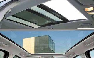 Что лучше люк или панорамная крыша?