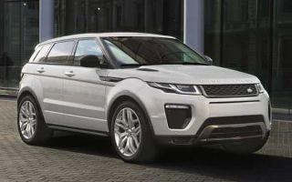 Обновленный Range Rover Evoque 2017 года получил новый двигатель