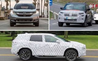 Среднеразмерные кроссоверы 2020 года: Honda CR-V, Skoda Kodiaq, Nissan X-Trail