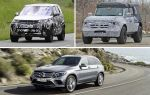 Внедорожники 2020 года: Land Rover Discovery, Ford Bronco, Mercedes-Benz GLC