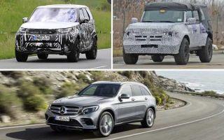 Внедорожники 2020 года: Land Rover Discovery, Ford Bronco, Mercedes-Benz GLC