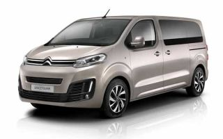 Обзор минивэна Citroen SpaceTourer с фото