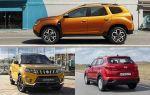 Полноприводные кроссоверы: Renault Duster, Hyundai Creta, Suzuki Vitara