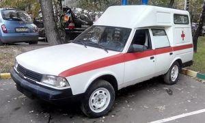 Карета скорой помощи АЗЛК 2901