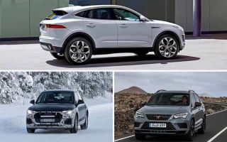 Среднеразмерные кроссоверы 2020 года: Jaguar E-Pace, Audi Q5, Cupra Ateca
