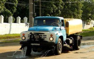 Ретро обзор: поливомоечная машина ПМ-130