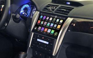 Преимущества штатных магнитол Toyota на Android