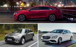 Выбираем универсал: Kia ProCeed, MINI Clubman, Mercedes Benz CLA