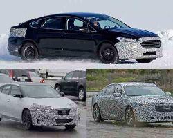 Седаны бизнес-класса 2019 года: Ford Mondeo, Nissan Maxima, Cadillac CT5