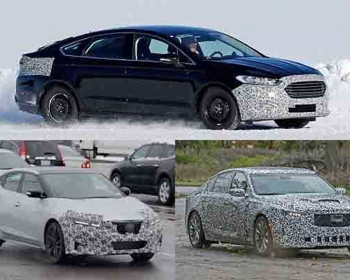 Седаны бизнес-класса 2019 года: Ford Mondeo, Nissan Maxima, Cadillac CT5