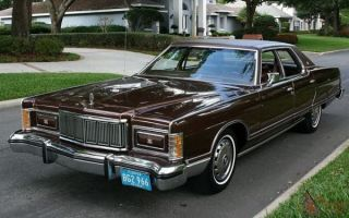 Ретро обзор: Mercury Grand Marquis 1978 года