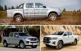 Пикапы: JAC T6, GWM Wingle 7, Toyota Hilux