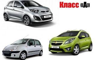 Плюсы и минусы автомобилей А-класса
