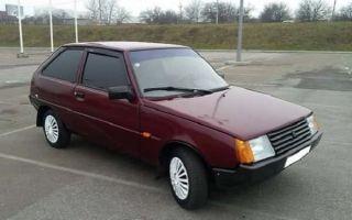 ЗАЗ 1102 «Таврия» — ультрамодный советский автомобиль!
