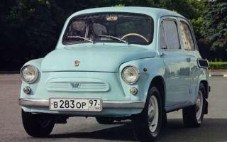 ЗАЗ-965 «Запорожец» — первенец, ставший всеобщим любимцем!