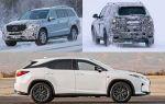 Люксовые кроссоверы 2018 года: Mercedes-Benz GLS, Lexus RX-L, BMW X7