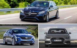 Заряженные седаны 2020 года: Mercedes-Benz E-Class, Cadillac CT4, Audi A4