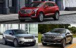 Кроссоверы среднего сегмента: Cadillac XT5, Range Rover Velar, BMW X4