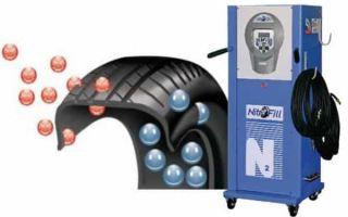 Стоит ли накачивать шины азотом? Результаты испытаний