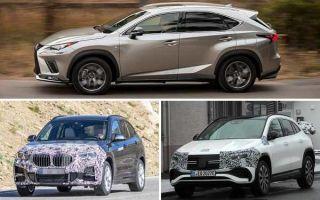 Компактные кроссоверы 2021 года: Lexus NX, BMW X1, Mercedes-Benz EQA