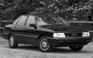История модели Audi 100