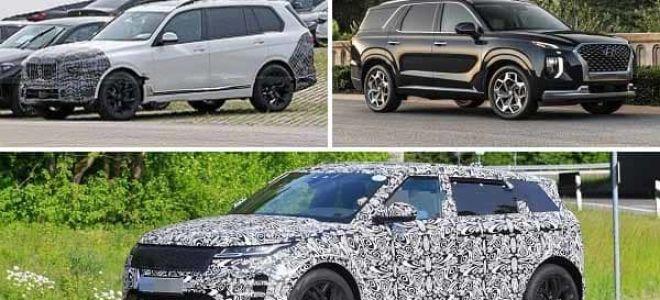 Престижные кроссоверы 2021 года: BMW X7, Hyundai Palisade, Range Rover Evoque