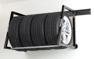 Как сохранить шины до следующего сезона