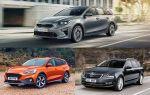 Универсалы C-класса: Kia Ceed SW, Ford Focus Wagon, Skoda Octavia Combi