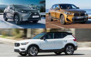 Кроссоверы премиум-класса: Lexus NX200, BMW X2, Volvo XC40