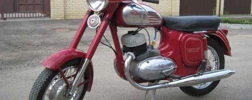 Мотоцикл Jawa 350/360 «Старушка» — вишнёвая мечта советских мальчишек!