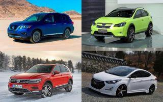 Новые модели автомобилей 2017 года