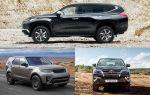 Комфортные внедорожники: Mitsubishi Pajero Sport, Toyota Fortuner, Land Rover Discovery