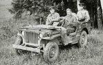 Ретро автомобиль Ford GPW – настоящий военный трудяга!