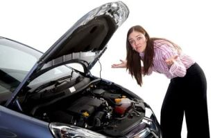 Что делать, если двигатель вышел из строя?