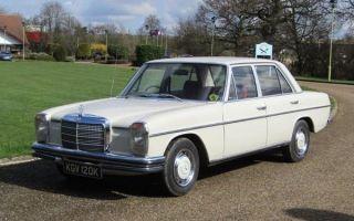 Ретро обзор: Mercedes-Benz W115 1972 года (первое поколение)