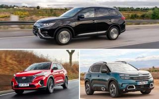 Спецверсии серийных автомобилей: Mitsubishi Outlander Black Edition, Hyundai Tucson N Line,Citroen C5 Aircross C Series