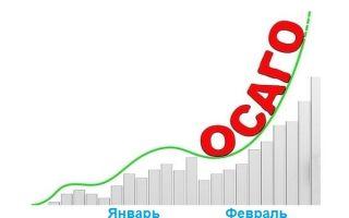 Тенденция роста выплат по ОСАГО в январе-феврале 2020 года