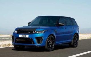 Обзор: Range Rover Sport в эксклюзивной версии SVR